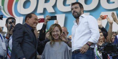 Le foto della manifestazione di Salvini di sabato a Roma