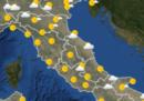Le previsioni meteo per giovedì 17 ottobre