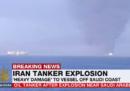 Ci sono state alcune esplosioni a bordo di una petroliera iraniana nel Mar Rosso