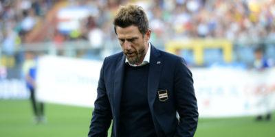 Eusebio Di Francesco non è più l'allenatore della Sampdoria