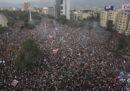 Le foto dell'enorme manifestazione a Santiago del Cile