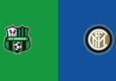 Sassuolo-Inter in diretta TV e in streaming
