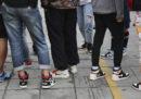 Il mercato delle sneaker contraffatte bene