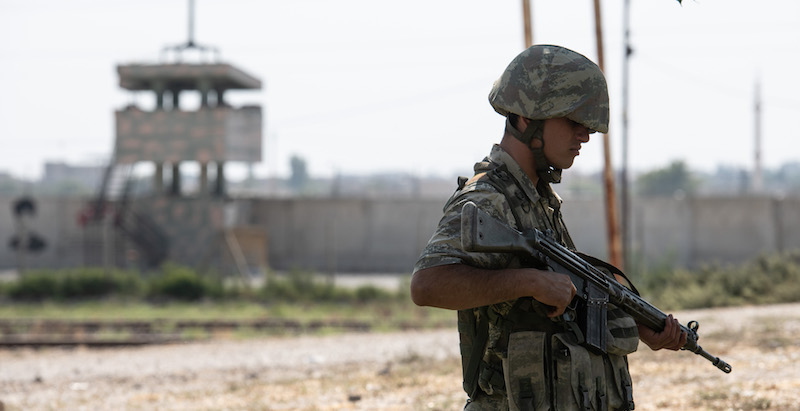 È iniziata l'operazione militare turca in Siria