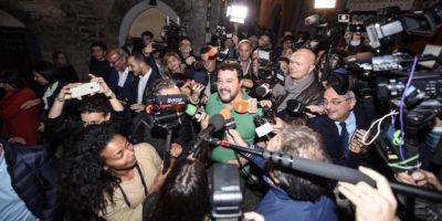 La Lega e il centrodestra hanno stravinto in Umbria