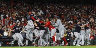 Washington ha vinto le World Series