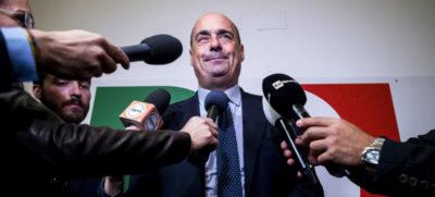 Zingaretti: «Gli italiani non sono dei coglioni»