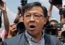 Un parlamentare di Hong Kong sostenitore del governo è stato accoltellato, ma non è in pericolo di vita