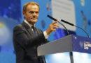 Donald Tusk è il nuovo presidente del Partito Popolare europeo, il principale partito europeo di centrodestra