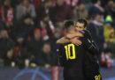 In Champions League l'Inter ha battuto lo Slavia Praga, il Napoli ha pareggiato contro il Liverpool