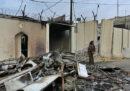 Alcuni manifestanti hanno attaccato e incendiato la sede del consolato iraniano di Najaf, in Iraq