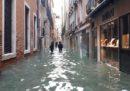 A Venezia è previsto un picco di acqua alta