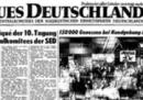 Il giornale che ignorò la caduta del Muro di Berlino