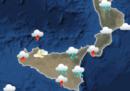 In Sicilia, Calabria e Basilicata è stata dichiarata l'allerta arancione a causa del maltempo