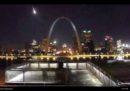 La meteora che ha illuminato il cielo di St. Louis