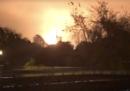 C'è stata una forte esplosione in uno stabilimento chimico di Port Neches, in Texas