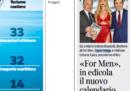 """I giornalisti del Corriere della Sera hanno protestato per un articolo sul nuovo calendario di """"For Men"""""""