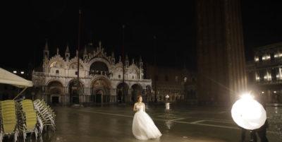 Le foto dell'acqua alta a Venezia