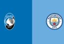 Atalanta-Manchester City in streaming e in TV