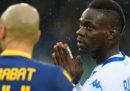 Il giudice sportivo ha ordinato la chiusura di un settore dello stadio Bentegodi di Verona per i cori razzisti a Mario Balotelli