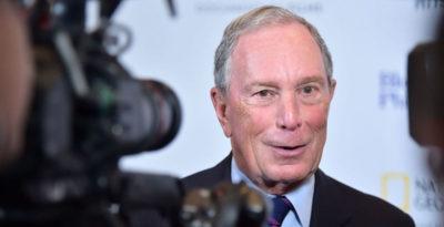 Michael Bloomberg si è candidato alle primarie dei Democratici