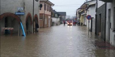 Le alluvioni in Piemonte e Liguria