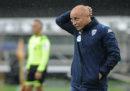 Il Brescia ha esonerato il suo allenatore, Eugenio Corini