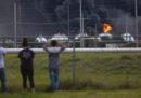 Le foto delle esplosioni in uno stabilimento chimico in Texas