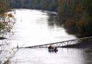 È crollato un ponte a Mirepoix-sur-Tarn, a nord di Tolosa, in Francia: sono morte due persone