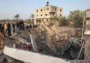 Il numero dei palestinesi morti nei bombardamenti israeliani sulla Striscia di Gaza è salito a 21