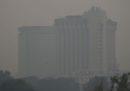 Le foto di New Delhi avvolta da fumo e smog