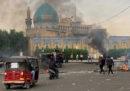 In Iraq sono in corso nuove proteste, le principali strade di Baghdad sono state bloccate