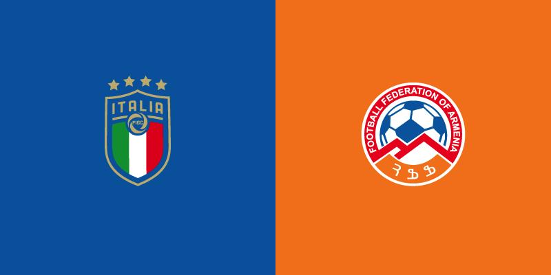 Italia-Armenia in diretta TV e in streaming