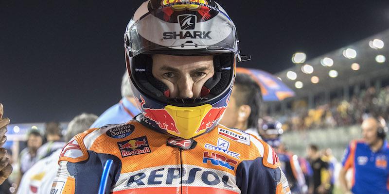 Il pilota spagnolo Jorge Lorenzo si ritira dal motociclismo