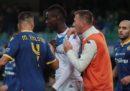 La reazione di Mario Balotelli ai cori razzisti della curva dell'Hellas Verona