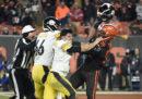 La violenta rissa di cui si sta parlando in NFL