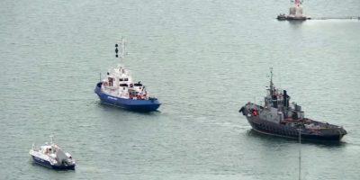 La Russia ha restituito le tre navi ucraine sequestrate nel 2018