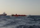 Nei giorni scorsi almeno 600 migranti sono partiti quasi contemporaneamente dalla Libia per arrivare in Europa