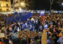 """Circa 4mila persone hanno partecipato a una manifestazione del movimento delle """"sardine"""" a Palermo"""