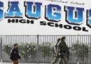 La sparatoria in una scuola superiore in California