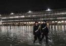 Le sirene per l'acqua alta di Venezia suonano così