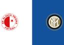Slavia Praga-Inter in diretta TV e in streaming