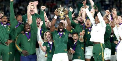 Il Sudafrica ha vinto la Coppa del Mondo di rugby