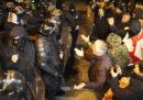 In Georgia ci sono stati scontri tra la polizia e i manifestanti che chiedevano la riforma della legge elettorale