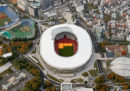 Sono finiti i lavori di costruzione dello stadio che ospiterà gli eventi principali delle Olimpiadi di Tokyo del 2020
