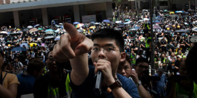 Joshua Wong non verrà in Italia