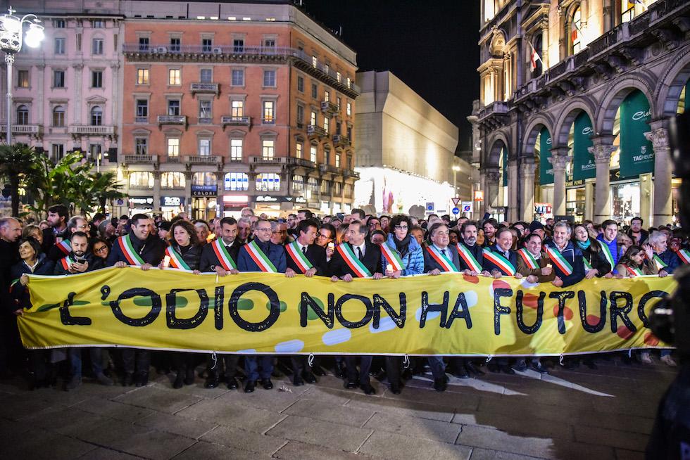 Una marcia contro l odio