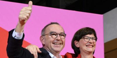 La SPD tedesca ha eletto i suoi nuovi leader