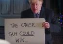 """Boris Johnson ha rifatto quella famosa scena di """"Love, actually"""""""