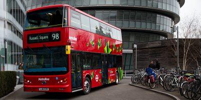 Il nuovo suono degli autobus elettrici di Londra